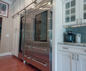 Riverview Kitchen Remodel Stainless Steel with Farmhouse Aesthetic