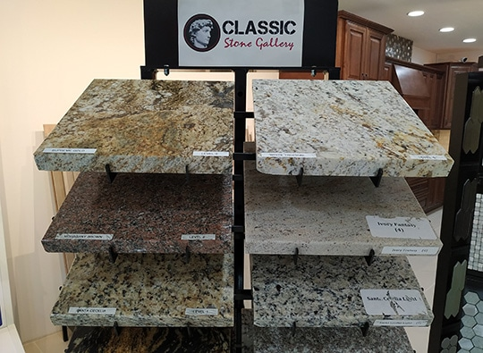 Riverview Kitchen Counter Granite Showroom